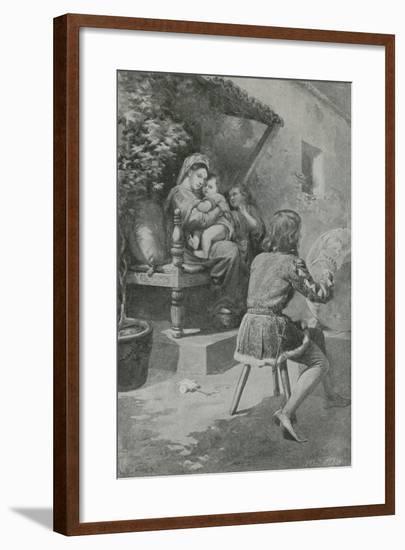 The Scene That Will Never Fade-Charles Mills Sheldon-Framed Giclee Print