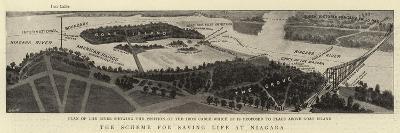 The Scheme for Saving Life at Niagara--Giclee Print