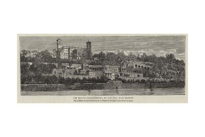 The Schloss Albrechtsburg, on the Elbe, Near Dresden--Giclee Print