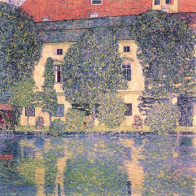 The Schloss Kammer-Gustav Klimt-Giclee Print