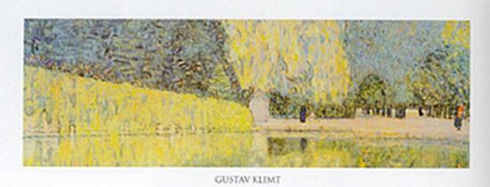 The Schonbrunn Park Detail-Gustav Klimt-Art Print
