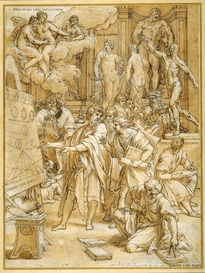 The School of Design-Carlo Maratti-Giclee Print