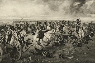 The Scots Greys at Waterloo, 18 June 1815, C.1902-Henri-Louis Dupray-Giclee Print