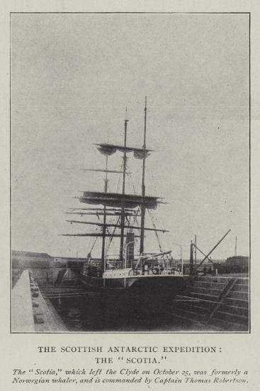The Scottish Antarctic Expedition, the Scotia--Giclee Print