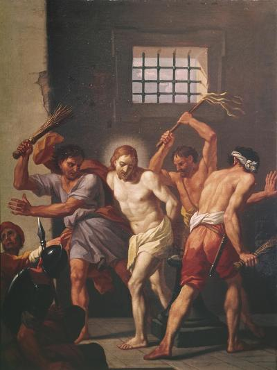 The Scourging of Christ-Hendrick Krock-Giclee Print