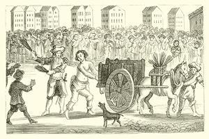 The Scourging of Titus Oates from Newgate to Tyburn