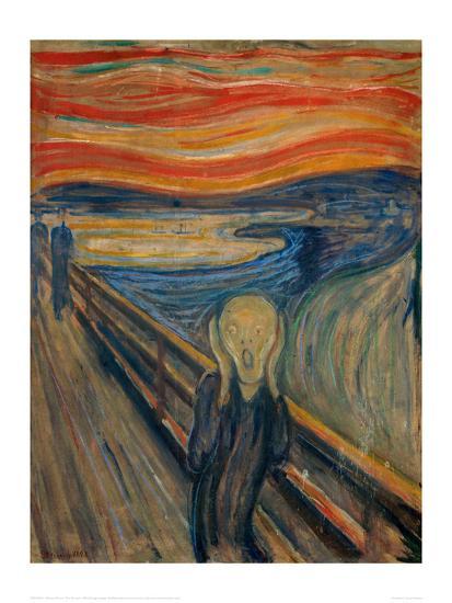 The Scream, 1893-Edvard Munch-Giclee Print