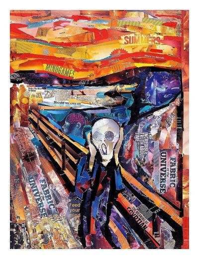 The Scream-James Grey-Art Print