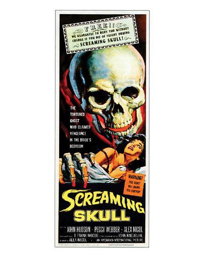 The Screaming Skull - 1958--Giclee Print