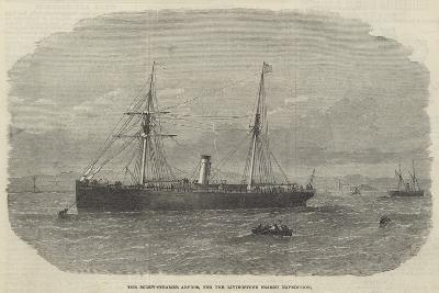 The Screw-Steamer Abydos, for the Livingstone Search Expedition--Giclee Print