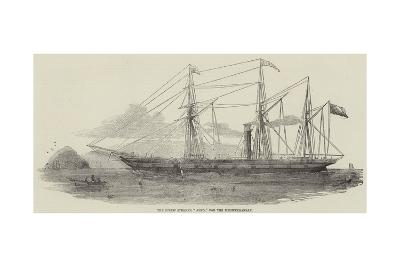 The Screw Steamer Arno, for the Mediterranean--Giclee Print