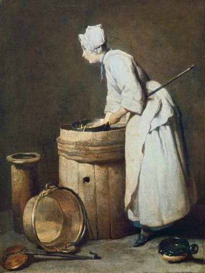 The Scullery Maid, 1738-Jean-Baptiste Simeon Chardin-Giclee Print