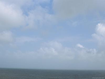 The Sea and a Cloudy Sky Seen from Nha Trang Beach--Photographic Print