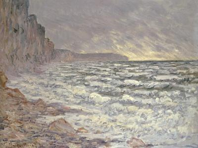 The Sea at Fecamp, 1881-Claude Monet-Giclee Print