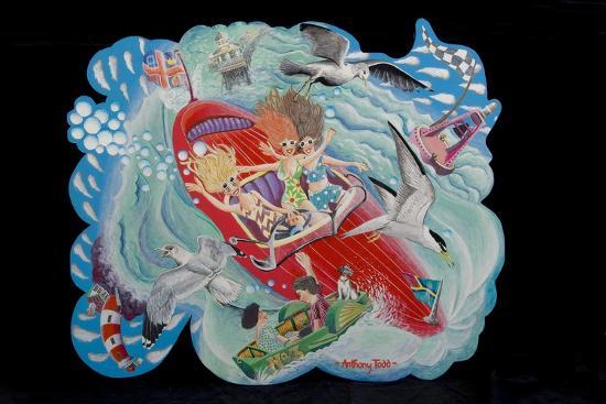 The Sea Birds, 2010-Tony Todd-Giclee Print