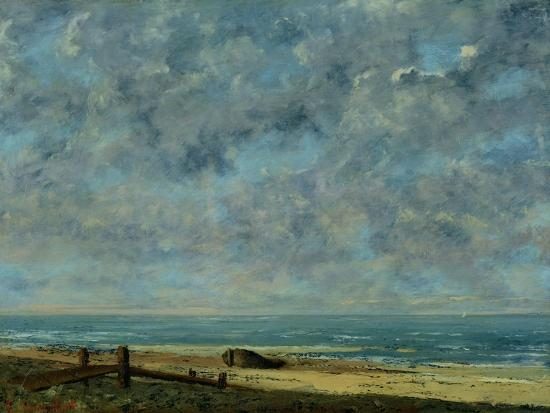 The Sea, c.1872-Gustave Courbet-Giclee Print
