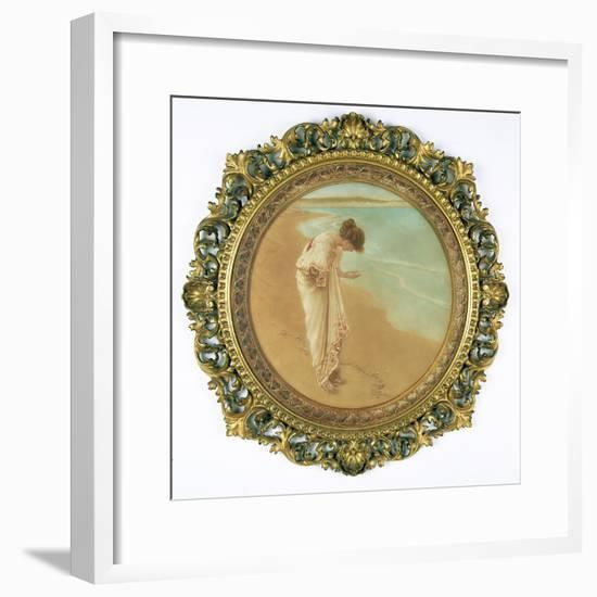The Sea Hath its Pearls-William Henry Margetson-Framed Giclee Print