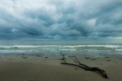 The Sea in a Cloudy Day in Winter- Etabeta-Photographic Print