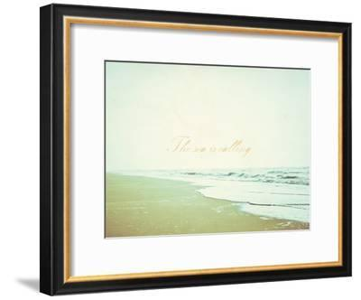The Sea Is Calling-Kindred Sol Collective-Framed Art Print
