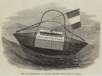 The Sea-Messenger, to Convey Letters from Ships in Peril--Giclee Print