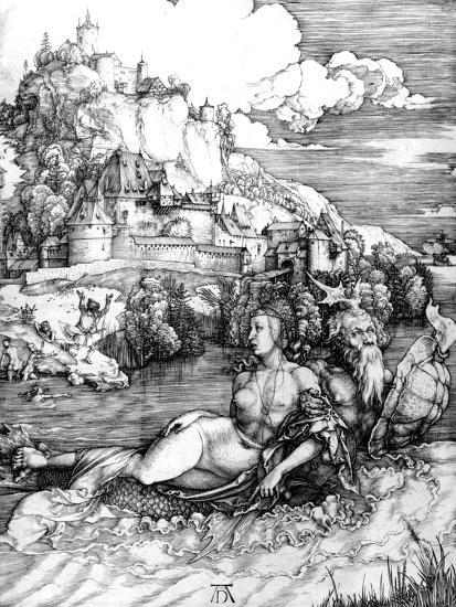 The Sea Monster, 1498-Albrecht D?rer-Giclee Print