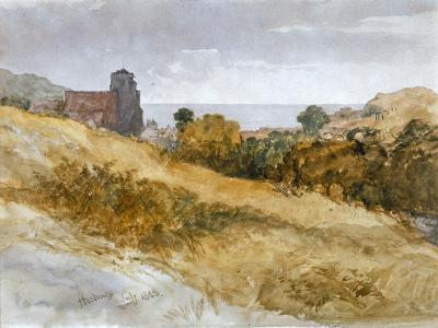 The Sea Near Hastings, 1853-John Gilbert-Giclee Print