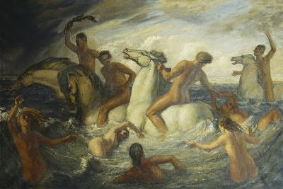 The Sea Race-Harry Morley-Giclee Print
