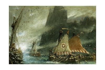 The Sea Raiders-Albert Goodwin-Giclee Print