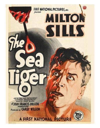 The Sea Tiger - 1927--Giclee Print