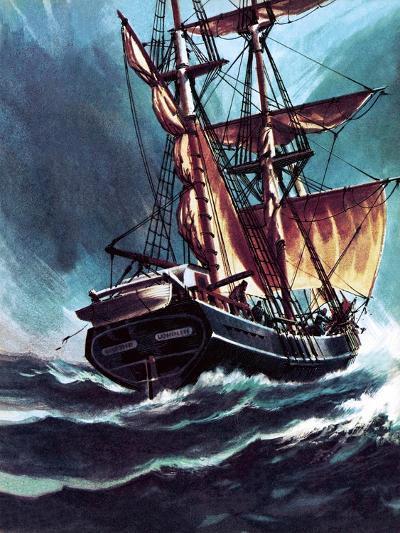 The Seafarer-Wilf Hardy-Giclee Print