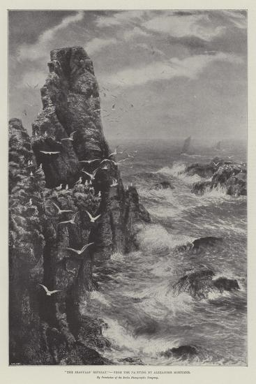 The Seagulls' Retreat--Giclee Print