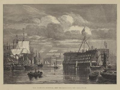 The Seamen's Hospital Ship Dreadnought, Off Greenwich--Giclee Print