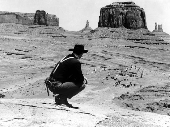 The Searchers, John Wayne, 1956--Photo