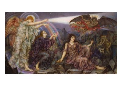 The Searchlight-Evelyn De Morgan-Giclee Print