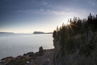 The Seascape from a Rocky Overlook-Robbie George-Photographic Print