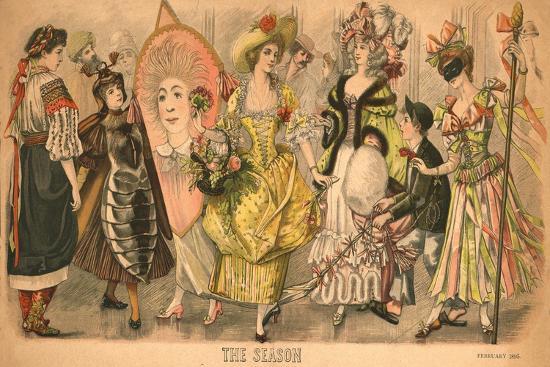'The Season', 1895-Unknown-Giclee Print