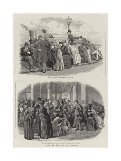 The Season at Brighton-Robert Barnes-Giclee Print