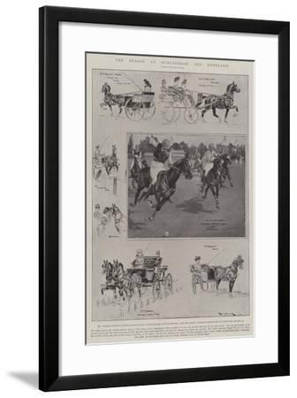 The Season at Hurlingham and Ranelagh-Ralph Cleaver-Framed Giclee Print