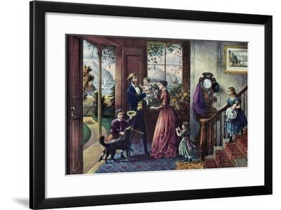 The Season of Strength, Middle Age, 1868-Currier & Ives-Framed Giclee Print