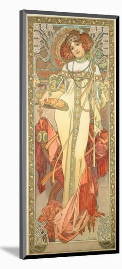 The Seasons: Autumn, 1900-Alphonse Mucha-Mounted Giclee Print