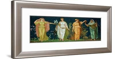 The Seasons-Walter Crane-Framed Giclee Print