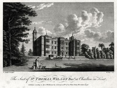 The Seat of Sir Thomas Wilson Bart at Charlton in Kent, 1776-William Watts-Giclee Print