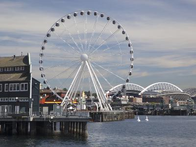 The Seattle Great Wheel, Seattle, Washington, USA-Jamie & Judy Wild-Photographic Print
