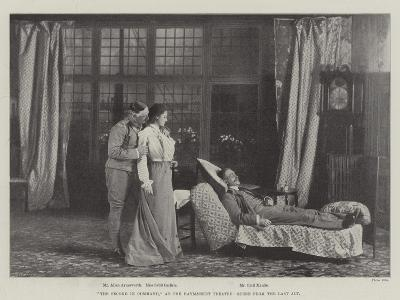 The Second in Command, at the Haymarket Theatre, Scene from the Last Act--Giclee Print