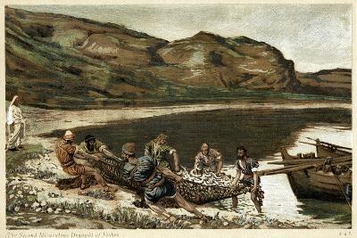 The Second Miraculous Draught of Fishes, C1890-James Jacques Joseph Tissot-Giclee Print