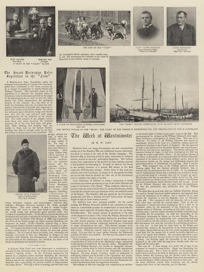 The Second Norwegian Polar Expedition in the Fram--Giclee Print