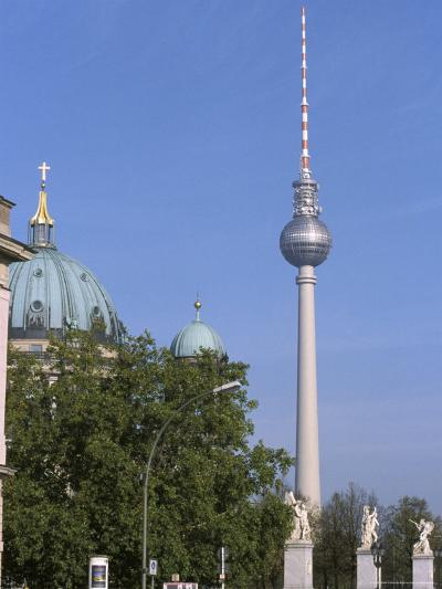 The Second Tallest Radio Tower in Europe Looms over Berlin, Germany-Jason Edwards-Photographic Print