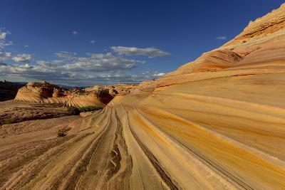 The Second Wave in the Vermillion Cliffs Wilderness, Arizona, USA-Chuck Haney-Photographic Print