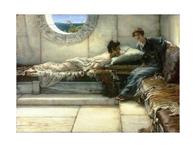 The Secret, 1887-Sir Lawrence Alma-Tadema-Giclee Print
