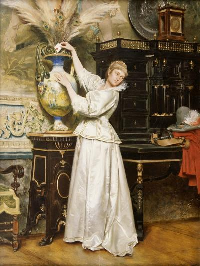The Secret Postbox, 1876-Tito Conti-Giclee Print